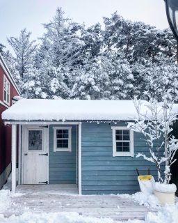 雪化粧も雰囲気バツグン